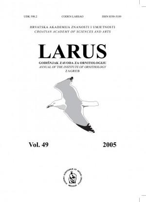 Larus – Godišnjak Zavoda za ornitologiju Hrvatske akademije znanosti i umjetnosti