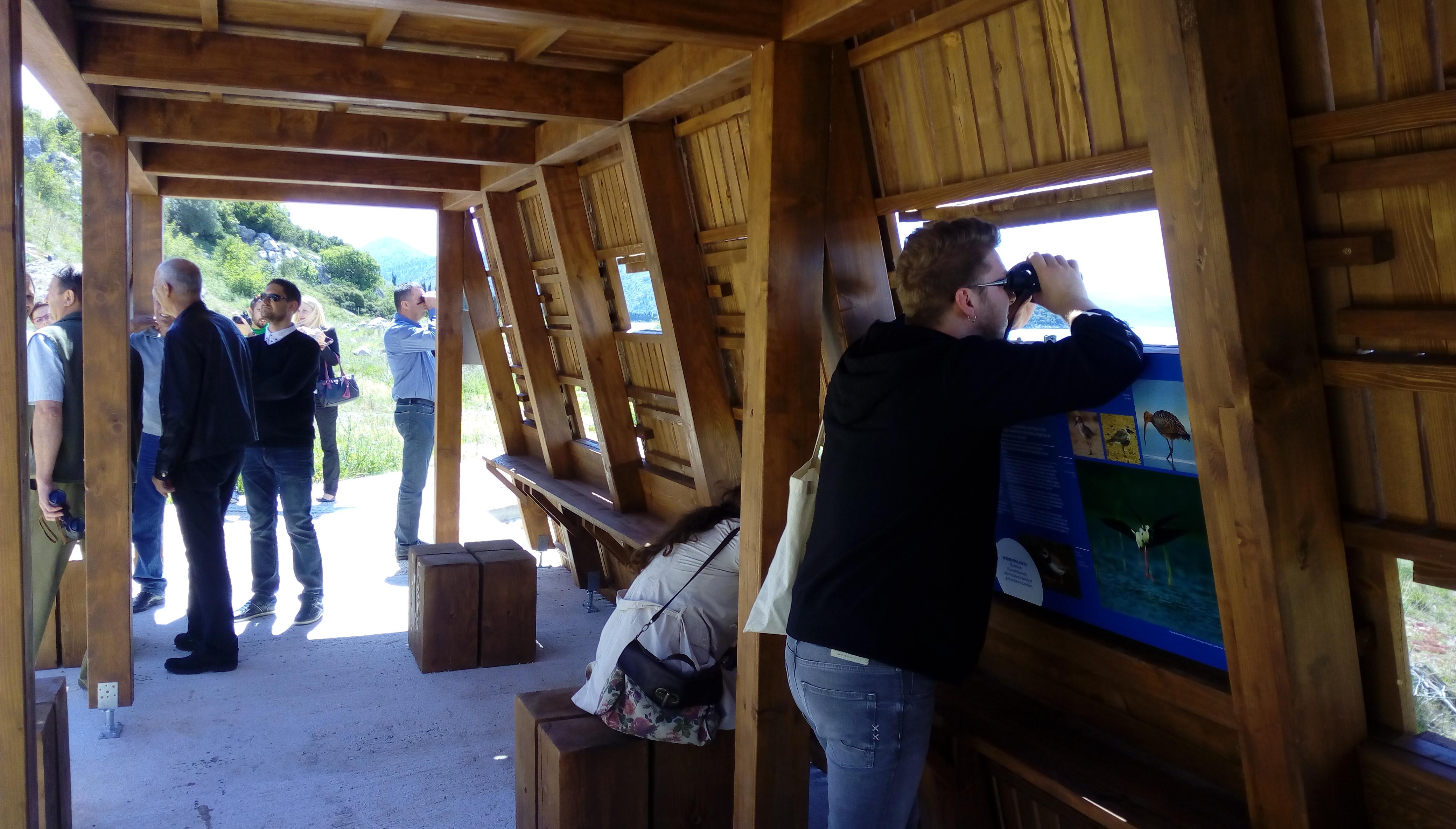 Otvorene promatračnice za ptice na delti rijeke Neretve