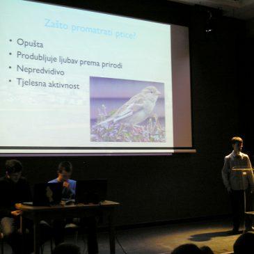 Gimnazijalci održali predavanje 'Ptice Križevaca i okolice' – » Križevci.Info